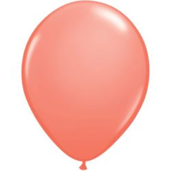 "11"" Qualatex Latex Balloon - Coral 