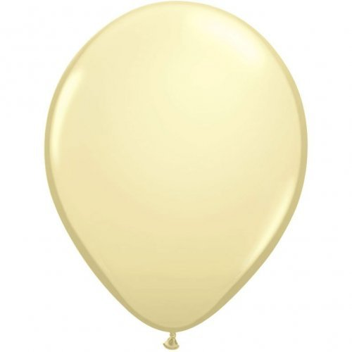 "11"" Qualatex Latex Balloon - Ivory Silk 