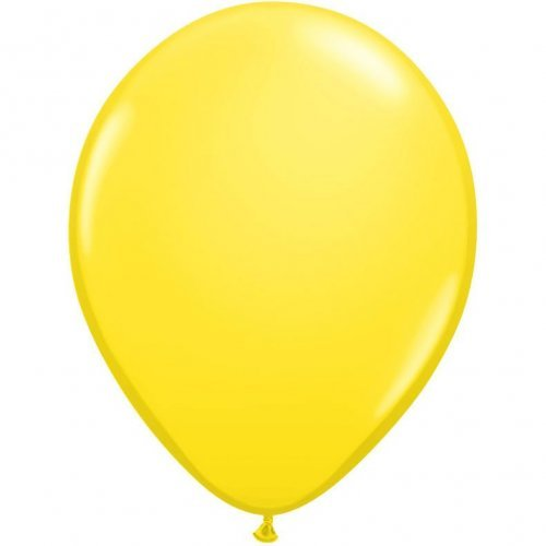 "11"" Qualatex Latex Balloon - Yellow 