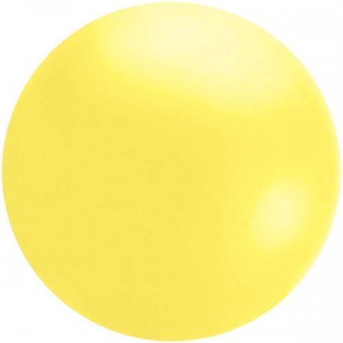4' Qualatex Cloudbuster Balloon - Yellow | HICO