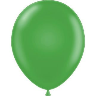 "11"" Tuf-Tex Latex Round Balloon - Lime Green 