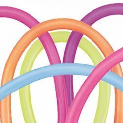 260 Qualatex Latex Balloon Neon Assortment | HICO