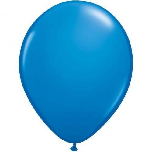 "5"" Qualatex Latex Round Balloon - Dark Blue 