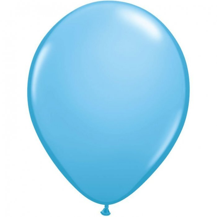 "5"" Qualatex Latex Round Balloon - Pale Blue 