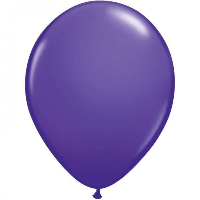 "5"" Qualatex Latex Round Balloon - Purple Violet 