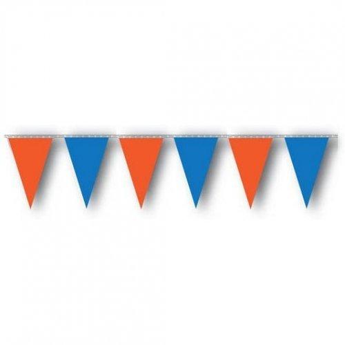 105' Pennant - Orange & Blue | HICO
