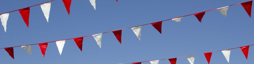 Ten New Ways to Decorate with Pennant Flags